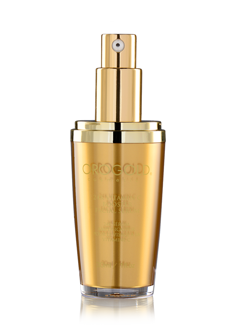24K Vitamin C Booster Facial Serum without it's lid